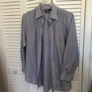 Polo Ralph Lauren men long-sleeve striped shirt